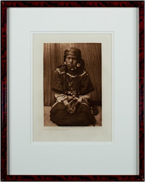Edward Sheriff Curtis, 'Touch Her Dress - Kalispel', 1910, David Barnett Gallery