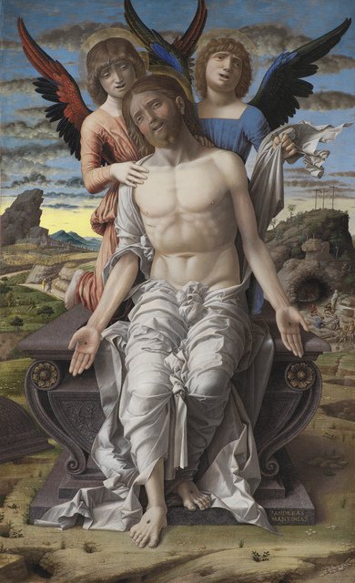 , 'Christ as the Suffering Redeemer,' ca. 1495-1500, Statens Museum for Kunst