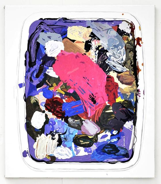 , 'Material Evidence (Lid),' 2015, Deweer Gallery