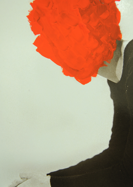 , 'No blood (red),' 2014-2016, l'étrangère