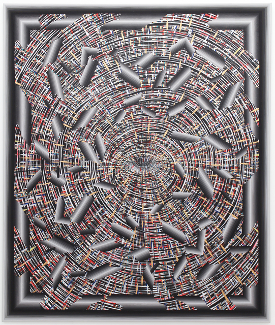 , 'Exploding Eye (Broken Pattern),' 2014, Hosfelt Gallery