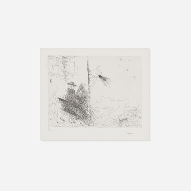 Pablo Picasso, 'Calixte et Melibee (from La Serie 347)', 1968, Print, Lithograph, Rago/Wright