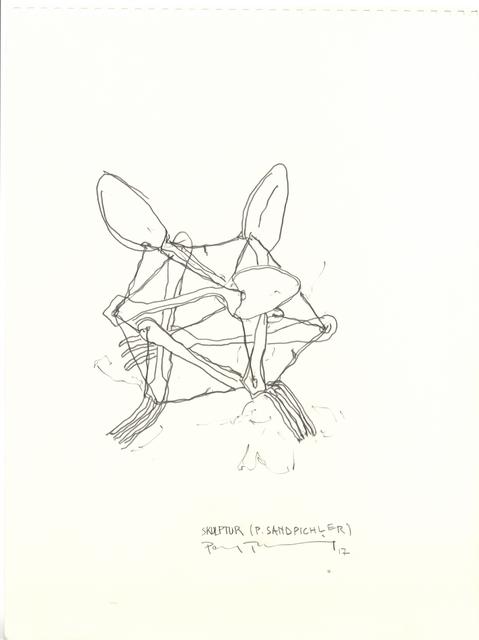 , 'Skulptur (Sandbichler),' 2016-2017, Galerie Elisabeth & Klaus Thoman