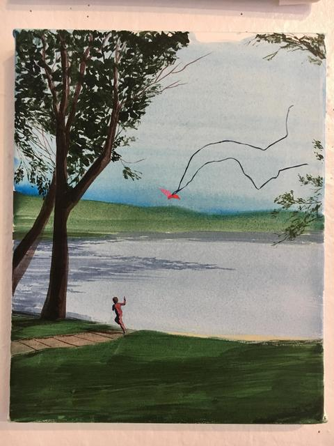 Sebastian Blanck, 'Kite Flying', 2016, Children's Museum of the Arts Benefit Auction