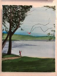 Sebastian Blanck, 'Kite Flying,' 2016, CMA: Benefit Auction 2016