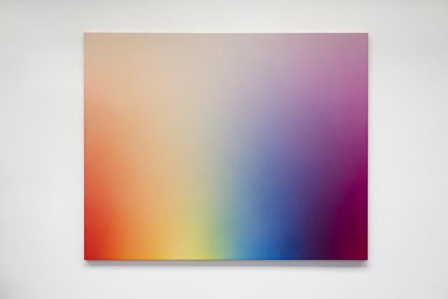 , 'Spectrum Fade ROYGCBVM,' 2017, Galería Hilario Galguera