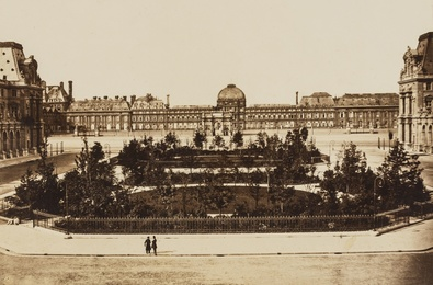 The Tuileries; View on the Seine