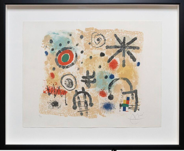 Joan Miró, 'Signs and Meteors', 1958, Galerie d'Orsay
