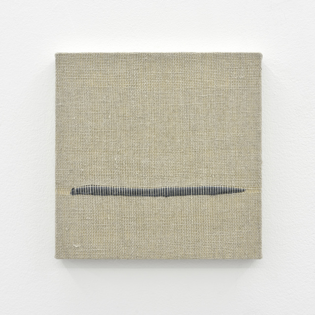 , 'Composition for Woven Horizon Line (Gray),' 2017, PRAZ-DELAVALLADE
