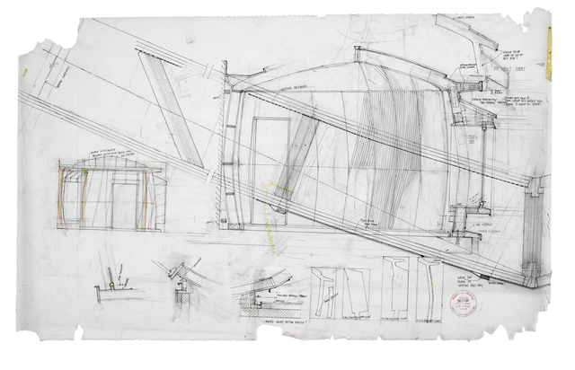, 'Preliminary section & plan details of House 2 yurt (1:25; 1:10 and full size),' 2009, Piano Nobile