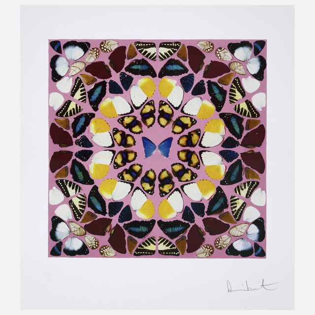 Damien Hirst, 'Beneficence', 2015, Print, Giclée print in colors with glaze, on wove paper, Artsy x Rago/Wright
