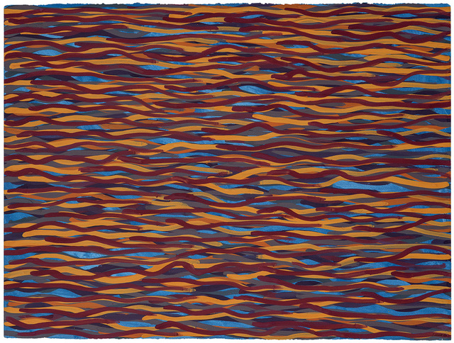 , 'Untitled (Wavy Lines),' 2004, Opera Gallery