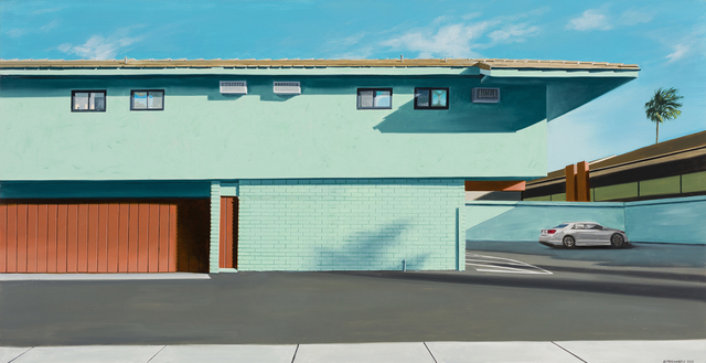 , 'Behind the Tiki Motel,' 2017, Linda Hodges Gallery