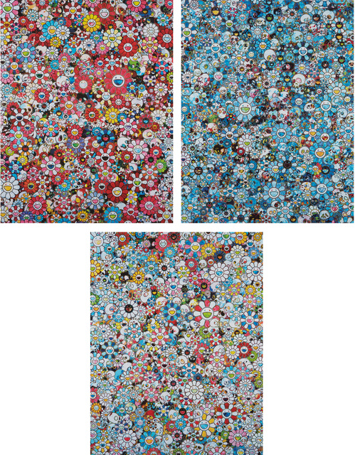 Takashi Murakami, 'The Merciless World; Signal;and Dazzling Circus: Embrace Peace and Darkness within thy Heart', 2014-18, Phillips
