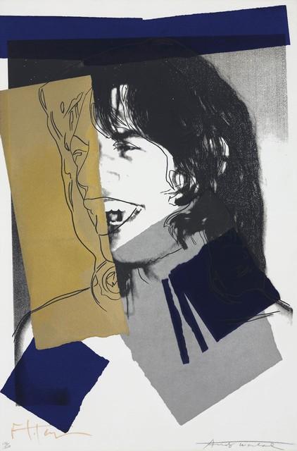 , 'Mick Jagger #142,' 1975, michael lisi / contemporary art