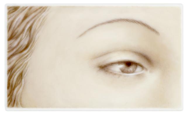 , 'Lover's Eye III: Nusch (after Man Ray),' 2015, Clark Gallery
