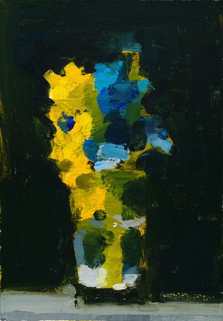 , 'Delphinium/Forsythia,' 2017, Somerville Manning Gallery