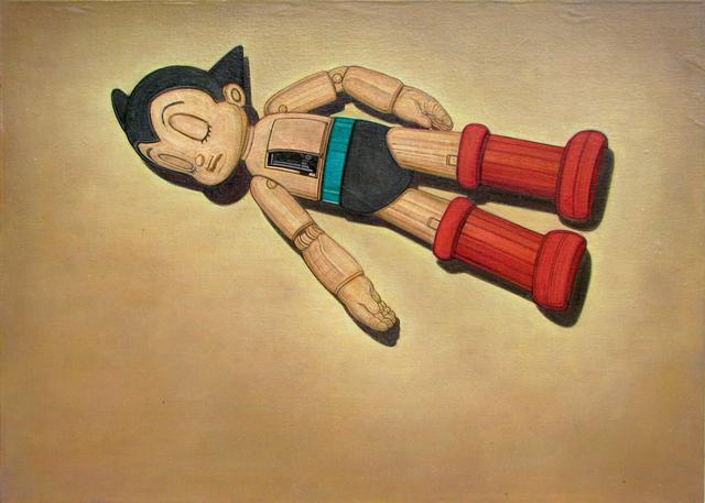 , 'Astroboy, the abandoned hero,' 2015, Eme Espacio de Arte