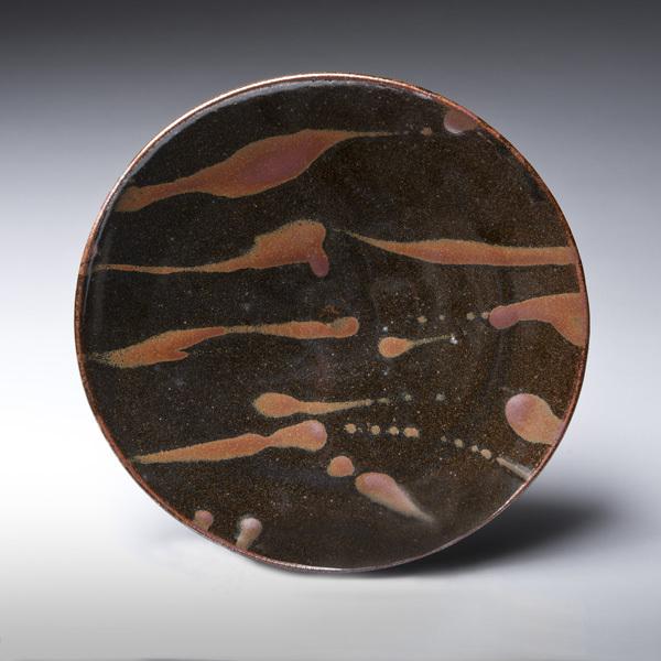 , 'Tenmoku Platter,' 2016, LACOSTE / KEANE GALLERY