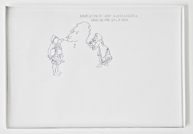 Miriam Laura Leonardi, 'Der Scheik von Alessandria und seine Sklaven', 2015, Swiss Institute Benefit Auction
