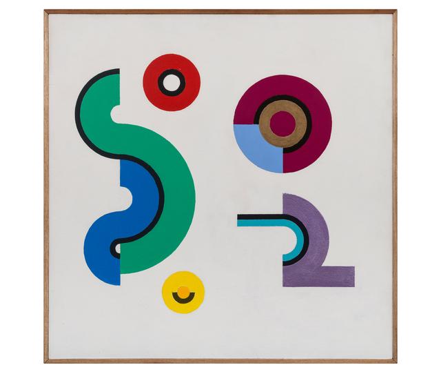 Abdulio Giudici, 'Constelación 2', 1994, Painting, Acrílico sobre hardboard, Herlitzka + Faria
