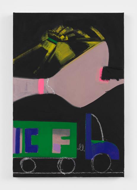 Ellen Berkenblit, 'Green and Blue Truck', 2018, Bronx Museum of the Arts Benefit Auction