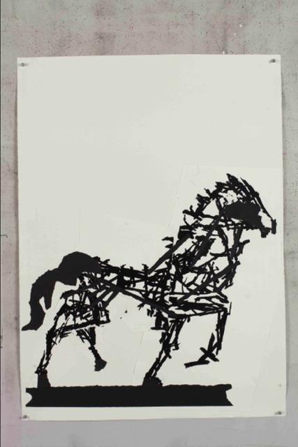 , 'Horse II,' 2016, Lia Rumma