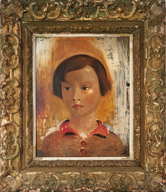 , 'Portrait of a Little Girl,' 1928, Robert Funk Fine Art