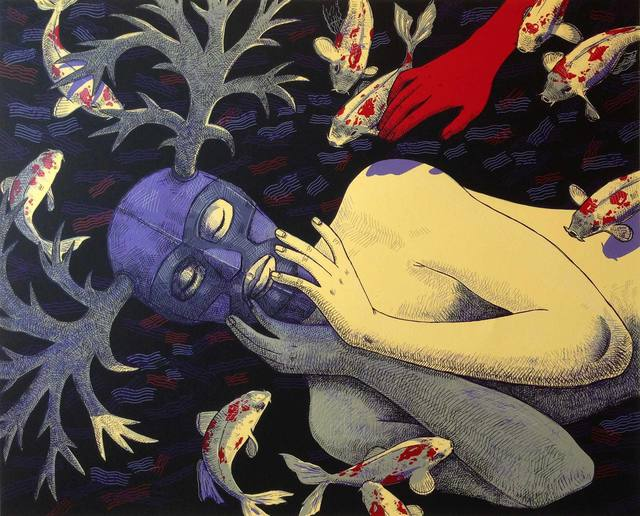 , 'Eve Awakening,' 2012, Warnock Fine Arts