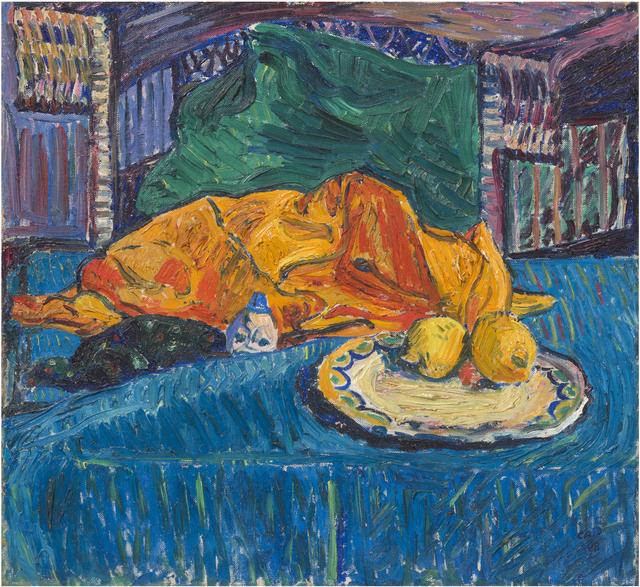 , 'Stillleben mit Zitronen,' 1908, bromer kunst