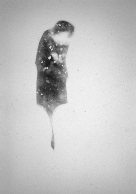 , 'in the snow I,' 2010, Galleria Doris Ghetta