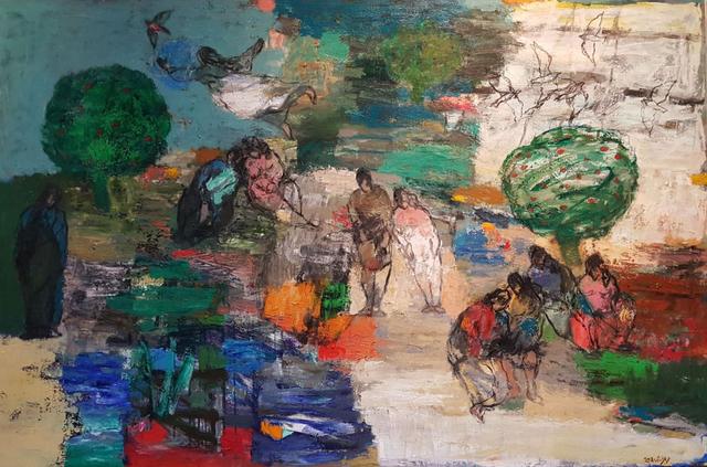 , 'The Virtuous City,' 2018, Janet Rady Fine Art