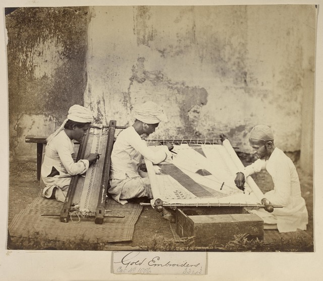 , 'Gold Embroiderers,' 1873, Victoria and Albert Museum (V&A)