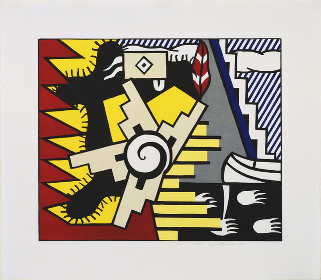 Roy Lichtenstein, 'American Indian Theme II', 1980, William Shearburn Gallery