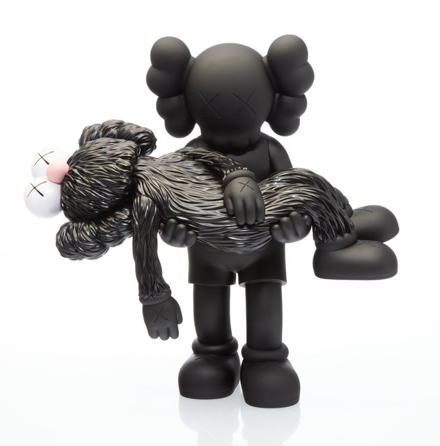 KAWS, 'Gone (Black)', 2019, Heritage Auctions