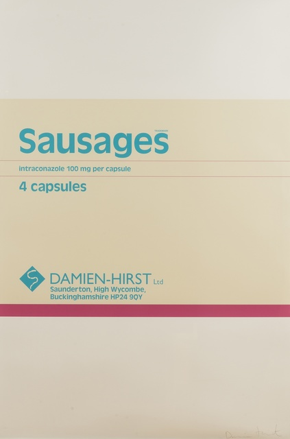 Damien Hirst, 'Sausages (from The Last Supper)', 2005, Print, Screenprint in colours, Forum Auctions