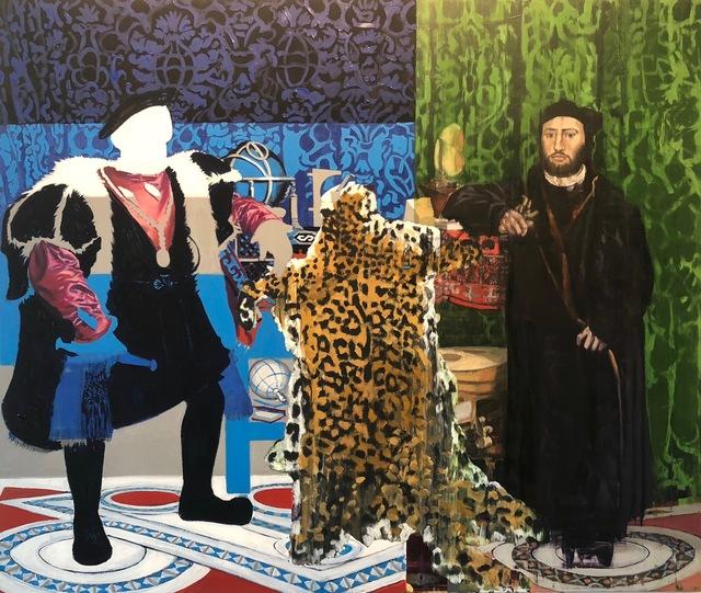 , 'Yo'Oko and the Ambassadors,' 2018, Adah Rose Gallery