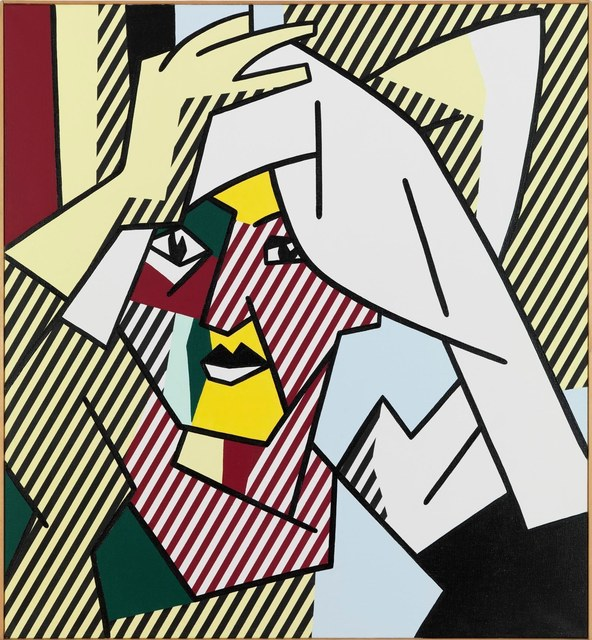 Roy Lichtenstein, 'Woman Drying Her Hair', 1980, Painting, Oil on Magna on canvas, Gagosian