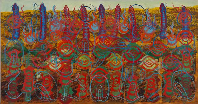 , 'Foraminifera,' 2014, Luhring Augustine