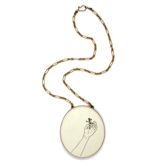 , 'Forget-Me-Not Pendant,' 2016-2017, Sienna Patti Contemporary