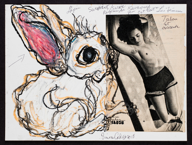 , 'Lapin Blanc/Pinup Francais-French Lesbians Series,' 2018, Track 16 Gallery