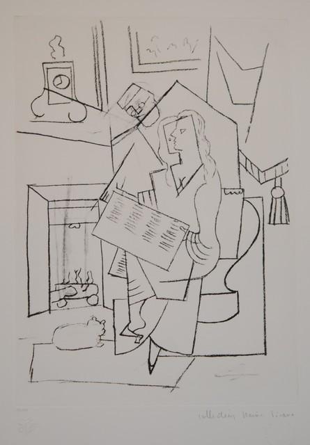 Pablo Picasso, 'Femme Dans un Fauteuil', 1979-1980, Golden Eagle Art Gallery