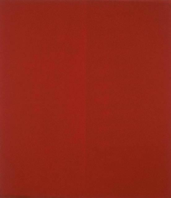Guido Molinari, 'Quantificateur rouge (G.M.-T-(1986-88)-03)', 1986-1988, Galerie de Bellefeuille