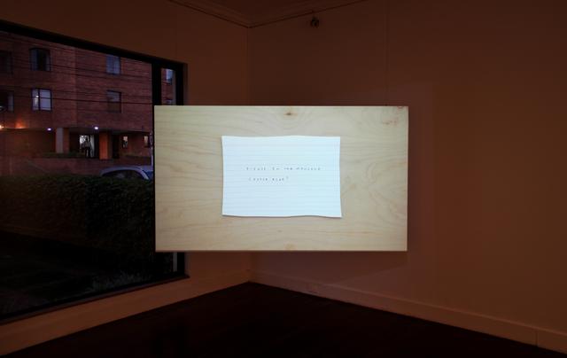 , 'Cosas por hacer ,' 2013-2015, Casas Riegner