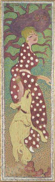 , 'Femmes au jardin, Femme à la robe à pois blanc (Women in a Garden: Woman in a Polka Dot Dress),' 1890-1891, Musée d'Orsay