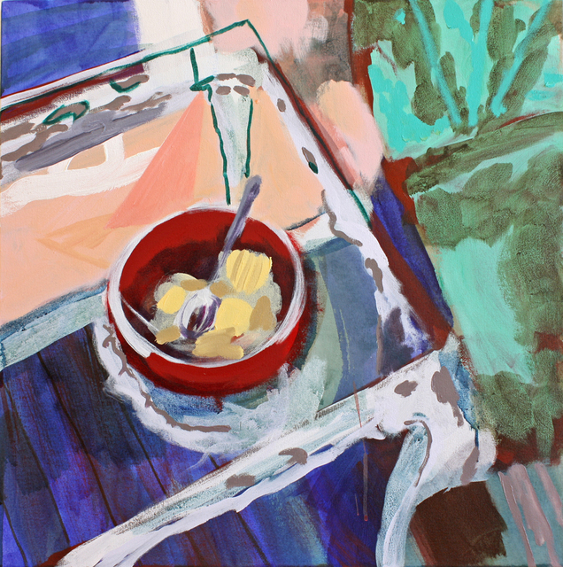 , 'Natchez Porch (Breakfast),' 2017, G. Gibson Gallery