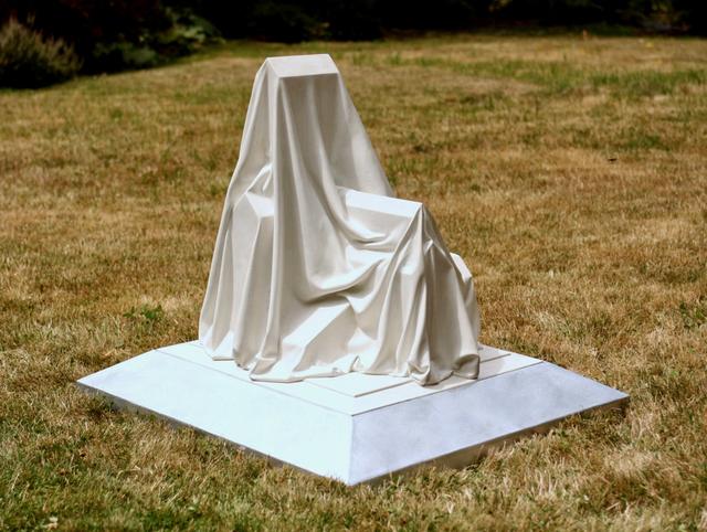 Cris Bruch, 'WELDONA', 2018, Sculpture, Glass fiber reinforced cement and galvanized steel base, Greg Kucera Gallery