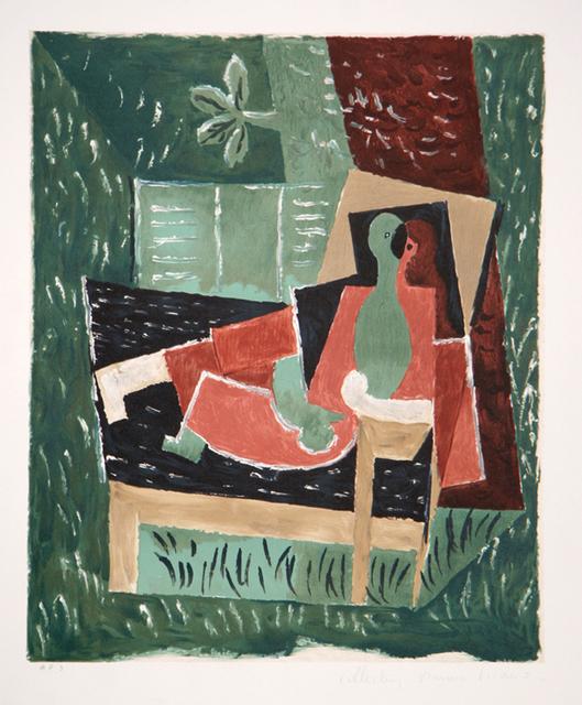 Pablo Picasso, 'Nu as Bras Leve de Face, 1967', 1979-1982, Print, Lithograph on Arches paper, RoGallery