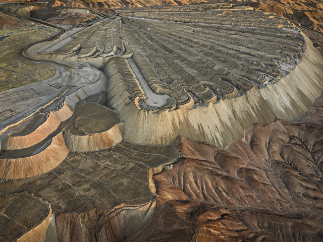 Edward Burtynsky, 'Chuquicamata Copper Mine Overburden #2, Calama', 2017, Howard Greenberg Gallery