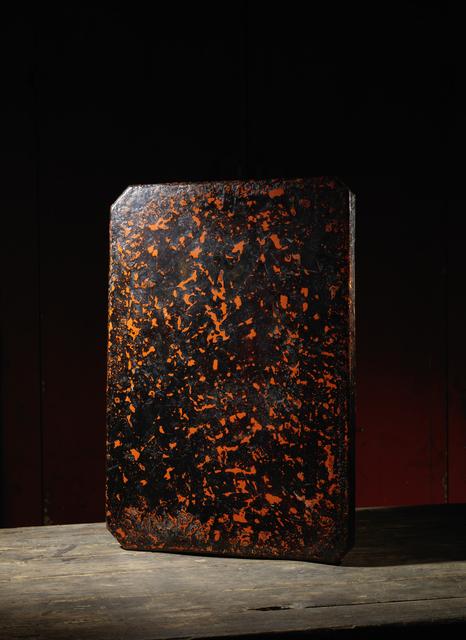 , 'A lacquer smith rectangular board or work table, tsubame tori ban,' Japan: 20th century, Rasti Chinese Art